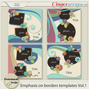 Emphasis on borders Templates Vol.1