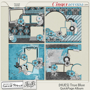 {HUES} True Blue - QuickPage Album