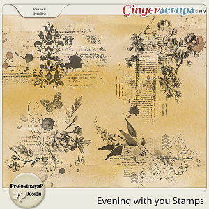 Evening with you Stamps