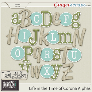 Life in the Time of Corona Alpha Sets by Aimee Harrison and Tami Miller