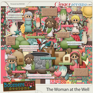 The Woman at the Well by BoomersGirl Designs