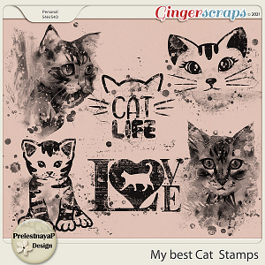 My best Cat Stamps