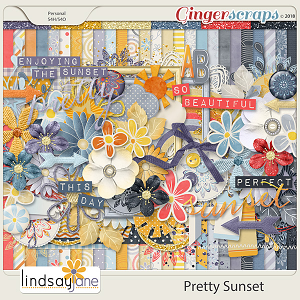 Pretty Sunset by Lindsay Jane