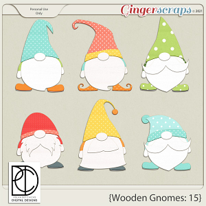 Wooden Gnomes #15
