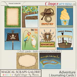 Adventure (journaling cards)