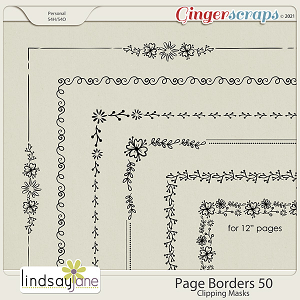 Page Borders 50 by Lindsay Jane