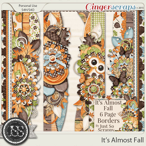 It's Almost Fall Page Borders