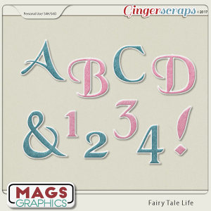 Fairy Tale Life ALPHA 2-Pack by MagsGraphics
