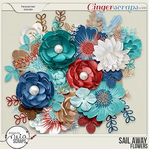 Sail Away - Flowers - by Neia Scraps