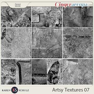 Artsy Textures 07 by Karen Schulz