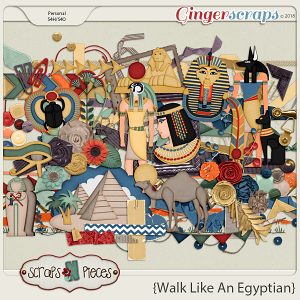 Walk Like An Egyptian Elements by Scraps N Pieces