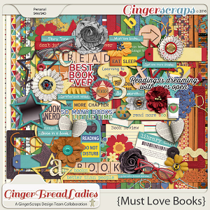 GingerBread Ladies Collab: Must Love Books