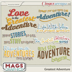 Greatest Adventure WORD ART by MagsGraphics