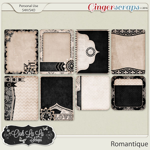 Romantique Journal and Pocket Scrap Cards