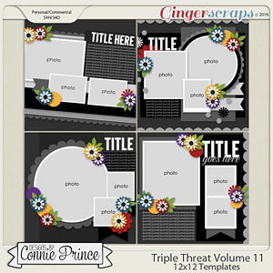 Triple Threat Volume 11 - 12x12 Temps (CU Ok)