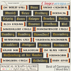 Best of Germany (word bits)