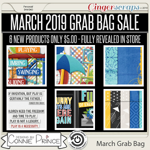 March 2019 Grab Bag - Happy Hopscotch by Connie Prince
