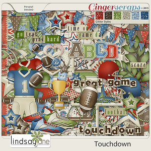 Touchdown by Lindsay Jane