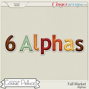 Fall Market - Alpha Pack AddOn by Connie Prince