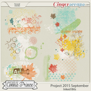 Project 2015 September - Inked Bits