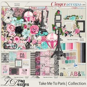 Take Me To Paris: The Collection by LDragDesigns