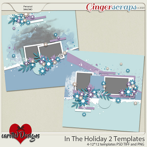 In The Holiday 2 Templates by CarolW Designs
