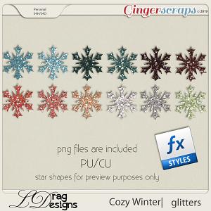 Cozy Winter: Glitterstyles by LDragDesigns