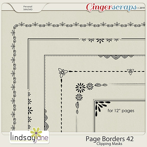 Page Borders 42 by Lindsay Jane