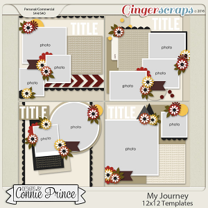 My Journey - 12x12 Templates (CU Ok)
