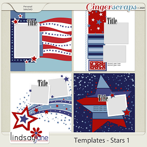 Templates - Stars 1 by Lindsay Jane