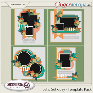 Let's Get Cozy - Template Pack