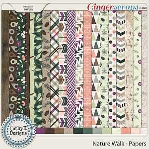 Nature Walk - Papers by CathyK Designs