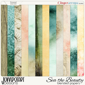 SEA the Beauty {Blended Papers}