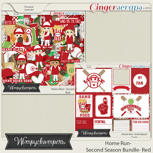 Home Run- Second Season Red Bundle