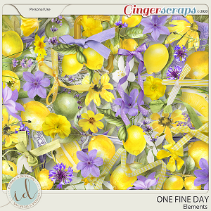 One Fine Day Elements by Ilonka's Designs