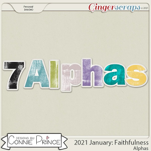 2021 January: Faithfulness Bonus Alphas by North Meets South Studios