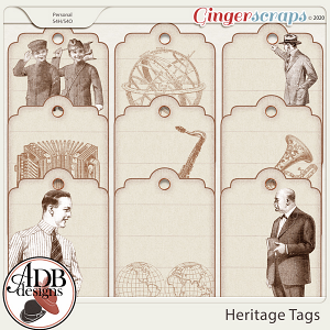 Heritage Resource - Heritage Tags by ADB Designs