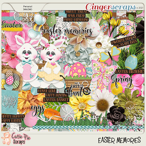 Easter Memories Page Kit