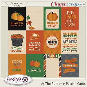 At The Pumpkin Patch - Cards by Aprilisa Designs