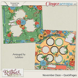 November Daze QuickPages