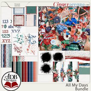 All My Days Bundle by ADB Designs