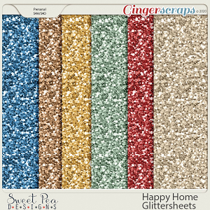 Happy Home Glittersheets