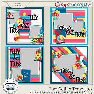 Two Gether Templates by Miss Fish
