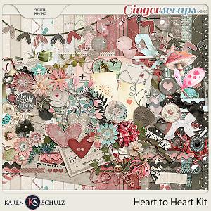Heart to Heart Kit by Karen Schulz