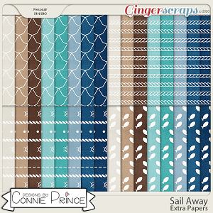 Sail Away - Extra Papers by Connie Prince