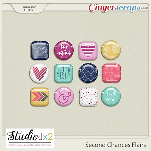 Second Chances Flair Pack