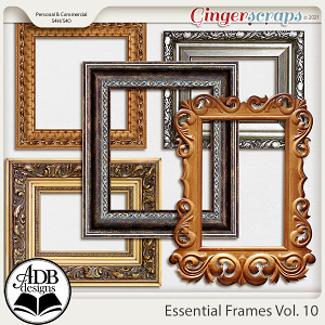 Essential Frames Vol 10 by ADB Designs