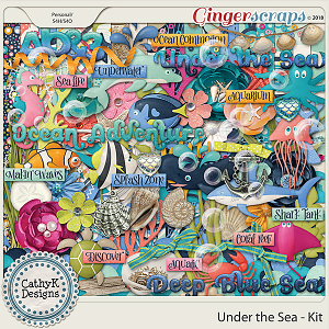 Under the Sea - Kit by CathyK Designs