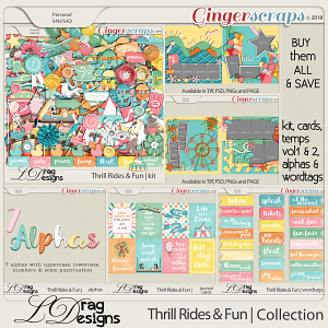 Thrill Rides & Fun: The Collection by LDrag Designs