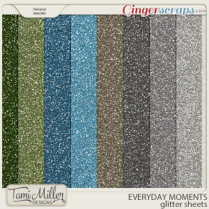 Everyday Moments Glitter Sheets by Tami Miller Designs